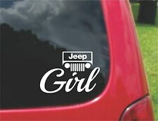 2(PCS)  Jeep Girl  Stickers Decals 20 Colors To Choose From