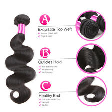 3 Bundles/150g Peruvian Body Wave Hair Products Unprocessed Human Hair Weave