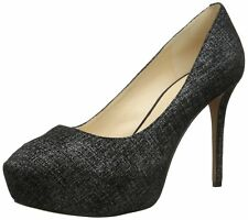Nine West Women's JULIETTE Leather Dress Pump BLACK