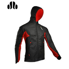 SOBIKE Fleece Thermal Winter Bike Jacket Long Sleeve Jersey Black - Wind Storm