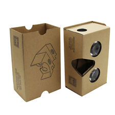 For Google Cardboard V2 3D Glasses Virtual Reality Valencia Max Fit 6Inch Phone