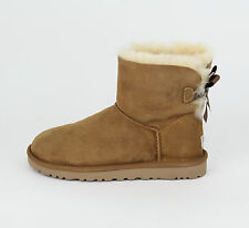 UGG Australia Mini Bailey Bow Chestnut 1005062 W/ CHE