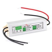 USA DC 12V 10W-200W Transformer Power Supply Driver LED Light Waterproof IP67