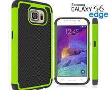 Shock-Proof Defender Heavy Duty Durable Phone Case Cover Samsung Galaxy S6 Edge