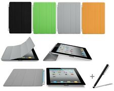 Thin Magnetic Smart Cover Case for Apple Ipad 4 iPad 3 & iPad 2 with Stylus Pen