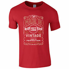 Made in 1965 T-Shirt - SP 50th Year Birthday Present Vintage Funny Gift Mens Top