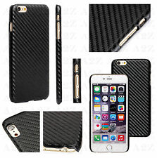 New Carbon Fiber Genuine Designer Slim Back Case Battery Cover For Mobile Phones