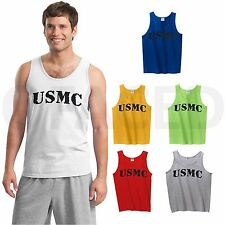 USMC MEN Tanks American Military Marine ADULT Tank Top across the chest - GMTS50
