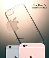 Slim Thin Crystal Clear Blank Hard Back Case Cover For Apple iPhone6s/6s Plus