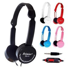 Foldable Over-Ear Earphone Headphone Kids Childs for iPod MP3 MP4 PC iPod TV