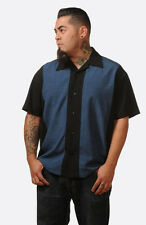 ROCKABILLY SHIRT Mens Retro style Bowling Shirt S M L XL XXL Rock Steady