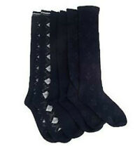 Passione Set of 2 Luxury Cashmere Blend Knee High Socks A202535