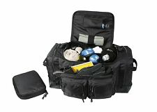 Rothco 8149 Deluxe Law Enforcement Gear Bag - Black