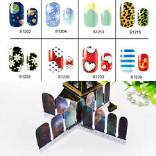 Nail Art Water Transfers Stickers Decals Mixed Manicure DIY Wraps Decoration