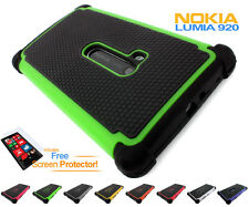 Lumia 920 Tough Defender Shock-Proof Heavy Duty Protective Case Cover For Nokia