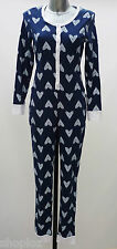 Ladies M&S Sizes 8-22 Onesie All in One Pyjamas Bnwt  Rrp £16.00