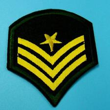 Army Military Police Insignia Iron on Sew Embroidered Cloth Patch Badge Applique