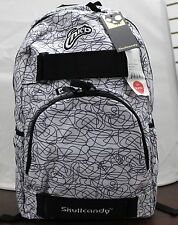 Skullcandy INK'D Backpack White/Black Scribble Brand New With Tags