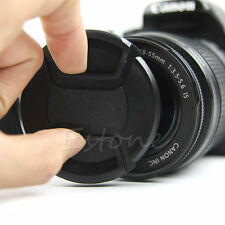 New Center Pinch Snap on Front Camera Lens Strap Cap For Nikon Canon Sony Filter