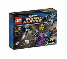LEGO DC SUPER HEROES BATMAN 6858 CATWOMAN CATCYCLE CITY CHASE