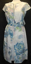 Anise Gray & Osbourn Ladies Dress Size 14 16 White Floral Wedding RRP £180 BNWT