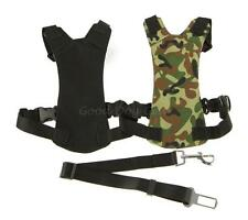 Dog Dual Chest Harness for Car and Walking With Dog Car Seat Buckle Harness