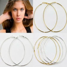 Lots 20Pcs Alloy Circle Basketball Wives Hoop Earring 20/30/40/50/60/70/80/90MM