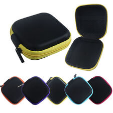 Zipper Mini Storage Bag Carrying Case for Hard Keep Earphones SD Card Area