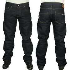 MENS JEANS DUCK & COVER BOXSIR REGULAR FIT STRAIGHT LEG 3D RAW COLOUR JEANS
