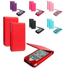 For Apple iPhone 4 4S Wallet Pouch Flip Magnetic Closing Case Cover Holder