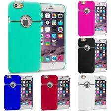 For Apple iPhone 6 (4.7) Hard Deluxe Chrome Rear Slim Case Cover Accessory