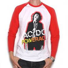 AC/DC T Shirt - Powerage Long Sleeve 100% Official Angus Young ACDC Classic Rock