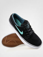 Nike SB Zoom Stefan Janoski Suede BLACK / CRYSTAL MINT 525104-030 NEW!