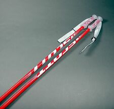 Scott 540 Red Senior Mens Ski Poles (NEW) Retails For $39.99 Made in Italy