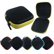 Pure Box Zipper Storage Bag Carrying Case For Hard Keep Earphones SD Card Area