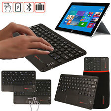 Slim Wireless Bluetooth UK Keyboard with Touchpad for Microsoft Surface 2 Pro 2