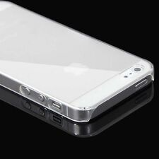 0.5mm Slim Crystal Glossy Hard PC Clear Back Case Cover Skin for iPhone 4/5 S/6