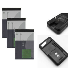 Li-ion Polymer Internal Battery + Charger For Nokia BL-4C 5100 6100 6300 6600
