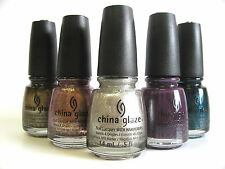 China Glaze Nail Polish -  Winter/Fall Colors