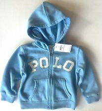 NWT Boys Ralph Lauren Polo Hoodie Jacket age 12 months, 18 months or 24 months