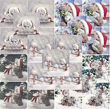 Me to You Christmas Cards Packs of 5 - Variety of 5 Xmas Card Packs Tatty Teddy