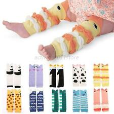 Newborn Children Baby Boy Girl Infant Leggings Socks Kids Leg Warmers Knee Pad