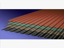 Black Corrugated Bitumen Sheet 2000mm Long 930mm Wide For Roofing And Canopys