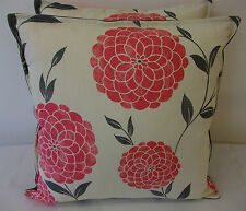 2 NEW CUSHION COVERS IN LAURA ASHLEY ERIN CERISE
