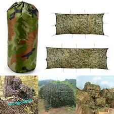 Camouflage Net Hunting Shooting Camping Woodland Camo Netting Hide Army 7 Sizes