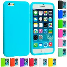 For Apple iPhone 6S Plus 5.5 Silicone Rubber Soft Skin Case Cover Accessory