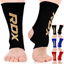 RDX Ankle Foot Support MMA Anklet Pads Brace Gym Guard Sock Protector Shin US