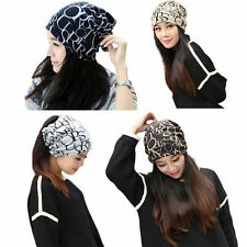 Fashion Womens Ladies Hat Warm Beanie Hat Scarf Baggy Beanie Cap Hip Hop Style
