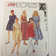 McCall's Sewing Pattern # 8591 Maternity Dress in 2 Lengths and Top Choose Size