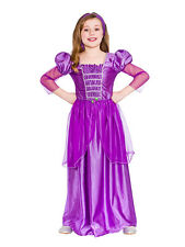 Storytime Classic Princess Fancy Dress Costume Rapunzel Girls Book Week Age 3-10
